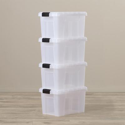 Storage bins to get organized