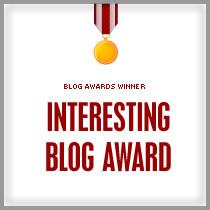 The Interesting Blog Award