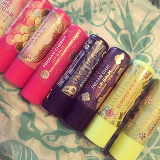 Omg these @ilovepacifica lip balms are amazing!! Review coming soon!! #crueltyfree All of these are so yummy!! 🦄💞